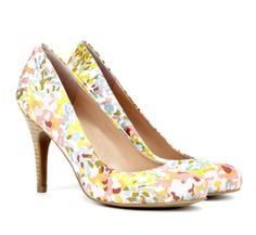 Pretty floral heels