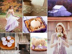 {Autumn I Do's}: Plum, Lavender, Copper, Camel + White