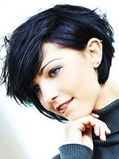 short black hair