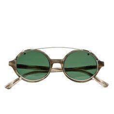 Han Kjobenhavn Doc Clip-On Handmade Sunglasses - Wolf: Image 1