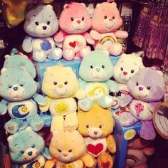 Things Only '80s Girls Can Understand - Selecting a Care Bear that you identified with best.
