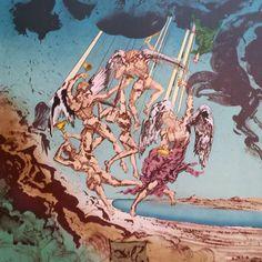 Return of Ulysses 1977 by Salvador Dali