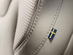 Volvo XC90 Interior - Seat leather detail