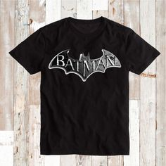 Batman Arkham T-Shirts _ Batman Custom Tees _ Batman Arkham T-shirts _ Batman Sperhero Tees and Onesie _ Batman Logo Tee _ Prime Decals