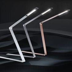 LICHT-TREND LED-Tischlampe / 100cm klappbar / 10W / Kupfer bei skapetze.com