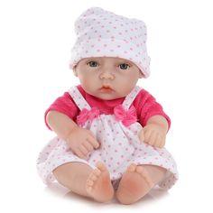 #BangGood - #Eachine1 11inch Handmade Reborn Baby Doll Lifelike Realistic Newborn Girl Toy Play House Toys - AdoreWe.com