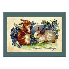 Easter Egg Hunt Invitations Lovable Bunnies Easter Invitation