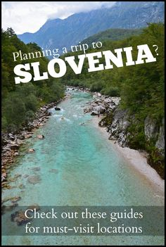 Planning a trip to Slovenia? | Check out these guides for must-visit locations around gorgeous Slovenia! #ifeelsLOVEenia