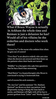 Cool batman conspiracy theory