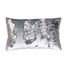 Found it at Wayfair - Mermaid Sequin Reversible Melody Lumbar Pillow