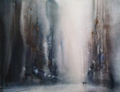 Aitor Renteria Painting & Drawing, Watercolor Paintings, Art Aquarelle, Light And Shadow, Painting Inspiration, Fashion Art, Abstract Art, Drawings, Artwork