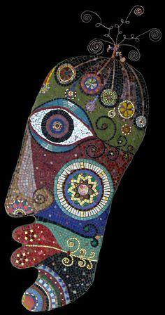 ode to byzantium - mosiac by Irinia Charnay