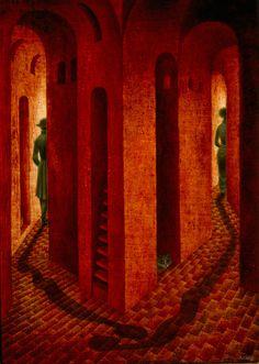 La-Despedida -1958 by Remedios Varo