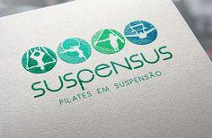 Logotipo e Site, criados para a Suspensus, que promove cursos de Pilates em diversas regiões do Brasil. Pode ser visto em http://eduardobibiano.com.br/suspensus/