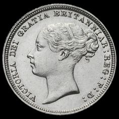 1886 Queen Victoria Young Head Silver Sixpence, G/EF