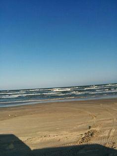 Mustang Island Beach. April 2016