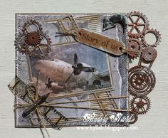 Cards by Astrid Birthday Cards For Men, Man Birthday, Steampunk Cards, Boy Cards, Scrapbook Pages, Scrapbooking, Funny Cards, Masculine Cards, Vintage Cards