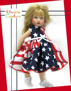 Ready for 4th of July!  ♡ for Riley Kish by Hankie Couture ♡ http://hankiecouture.com ♡ #hankiecouture