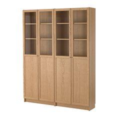 BILLY / OXBERG Librería IKEA Baldas regulables. Adapta el espacio entre las baldas según tus necesidades.