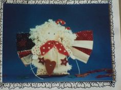 Craft Sewing Pattern  Patriotic Angel  Bit of by LindaHarvey, $3.99