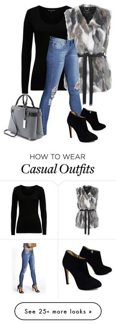 """""""Winter Casual"""" by billi29 on Polyvore featuring French Connection, Jane Norman, Giuseppe Zanotti and Michael Kors"""