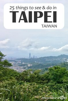 25 things to see and do in Taipei, the capital of Taiwan: budget information, Taipei highlights plotted on a map so it's easy for you to find them, great Airbnb accommodation, how to get around in Taipei city and where to find delicious food. Complete guide to plan the perfect Taipei trip!