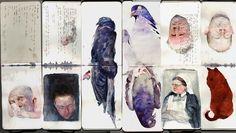 Benjamin Bjorkland - sketchbook