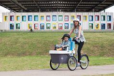TAGA FAMILY BIKE: Configurazione per il trasporto di un bambino