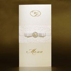 Wedding Menu cards - Virginia - WeddingSoon