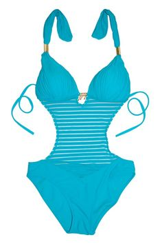 e8082f5fff Halter String Push Up Paded Banded Sexy One-Piece Monokini Swimsuit Swimwear   Merpher.