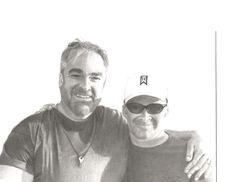 """Bros"" Me and my long time buddy, Derek. Graphite pencil 2B 4B"