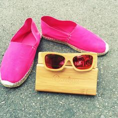 #Bambus #Sonnenbrillen #Bambus Espadrilles, Flats, Shoes, Fashion, Sunglasses, Bamboo, Espadrilles Outfit, Loafers & Slip Ons, Moda