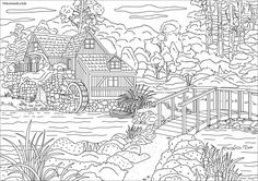 Coloring Pages Archives - Page 14 of 19 - Favoreads - Original Adult Coloring Books and Designs