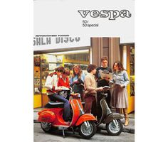 Vespa promotional brochure