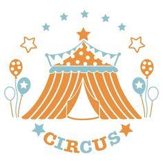 Sticker Chambre bébé Circus