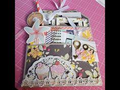 Flip Bag Happy Mail using Felicity Jane Paper - YouTube