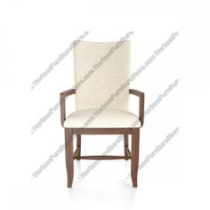Canadel Custom Dining Arm Chair - CHA 1259