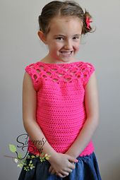 Ravelry: Samantha Shell - Child Sizes pattern by Sincerely Pam