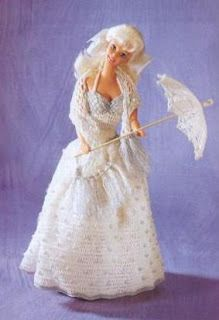 DIY Barbie Crochet Dress Cristaline