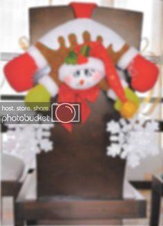 Cubresillas navideños Covering Chairs, Gnomes, Dining Room