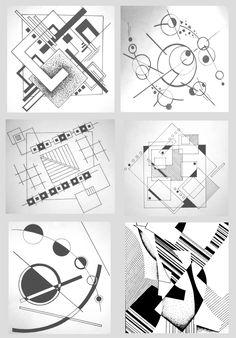 0009 НМЕТ АI1 курс раб 1 - Учебнометодические указания по дисциплине архитектурное проектирование Graphic Design Illustration, Illustration Art, Architecture Concept Drawings, Buch Design, 2d Design, Abstract Geometric Art, Composition Design, Principles Of Design, Geometry Art