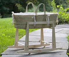 Moses basket and rocker set