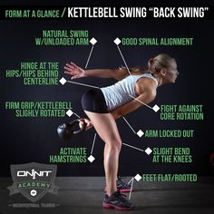 How to do the Kettlebell Back Swing (scheduled via http://www.tailwindapp.com?utm_source=pinterest&utm_medium=twpin&utm_content=post103730123&utm_campaign=scheduler_attribution)