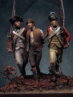 The capite Bill Horan American Revolutionary War, American War, Military Diorama, Military Art, Military History, Military Action Figures, Military Modelling, Samurai, Miniature Figurines