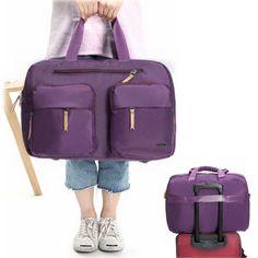 Women Nylon Luggage Bag Travel Duffle Bag Holdall Bag Handbag Crossbody Bag is fashion-NewChic Mobile.