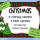 There are 5 literacy center activities and 4 math center activities. All of the activities can easily be implemented whole group, small groups, or ...