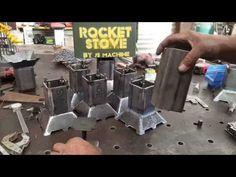 Pocket Rocket Stove - Part 3 - YouTube