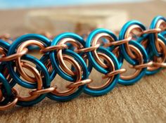 chainmaille garter belt weave tutorial | Gotta try this weave sometime
