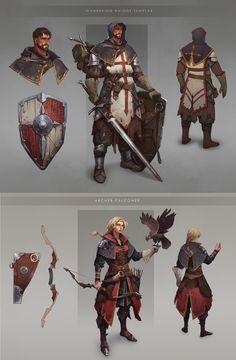 Character Concept by Anna Kharitonova