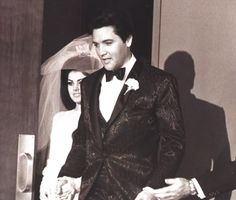 45 Candid Photographs of Elvis and Priscilla Presley on Their Wedding Day on May 1967 ~ vintage everyday